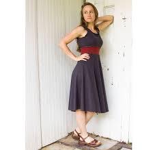 sleeveless athena stretch hemp dress organic clothing made