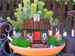 mini garden ideas storybook cottage