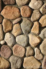 Stone Villa Design From Rock And Stone Create A Cozy Outdoor - Rock wall design