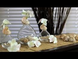 Seashell Centerpiece Ideas by Decorating Objects With Seashells Decorations For The House
