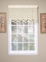 amazon com today u0027s curtain gettysburg knitted 20 inch crochet