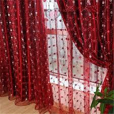 Bright Red Sheer Curtains Red Sheer Curtain Scarf Moshells Sheer Red Curtains