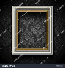 Picture Frame On Wall by Picture Frame Wallpaper Background Photo Frame Stock Vector
