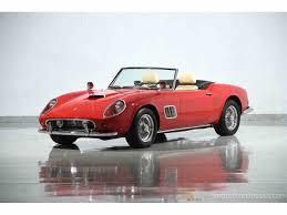 newest ferrari 1962 ferrari 250 gt california spyder swb for sale classiccars