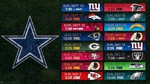 the 2017 nfl schedule is released cowboys podcast
