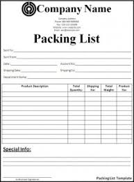 Packing List Template Excel Top 5 Free Packing List Templates Word Templates Excel Templates