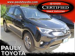 toyota vehicles 23 certified pre owned toyotas crystal lake pauly toyota