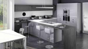 cuisine couleur grise cuisine amã nagã e grise en image équipée ikea couleur pretty
