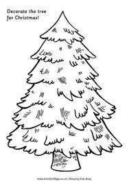drawn christmas ornaments christmas tree pencil and in color