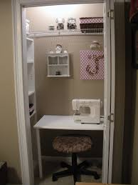 sharons place of blessings i converted a closet into a sewing