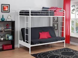 Bunk Bed With Sofa Underneath Metal Wood Loft Beds With Sofa Underneath