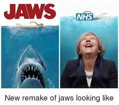 Jaws Meme - jaws nhs new remake of jaws looking like meme on me me