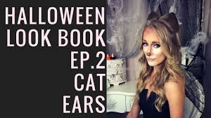 halloween look book cat ears by sweetheart hair design youtube