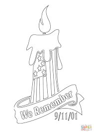 we remember 9 11 01 coloring page free printable coloring pages