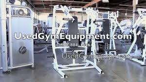 used hammer strength iso lateral bench press for sale youtube