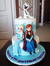 thecakinggirl frozen elsa anna olaf cake cupcake designs