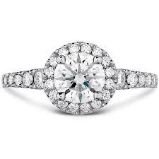 halo rings images Transcend premier hof halo engagement ring png