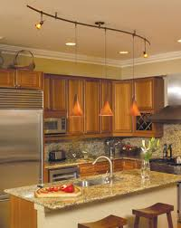 led monorail track lighting monorail lighting system in a kitchen environment home sweet