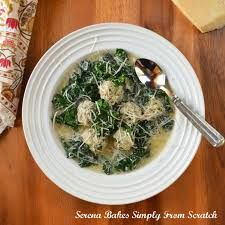 recipe italian wedding soup italian wedding soup with meatballs serena bakes simply from scratch