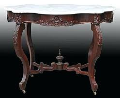 value of marble top tables antique marble coffee table furniture identification and value guide