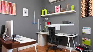 bureau dans chambre aménagement décoration bureau chambre