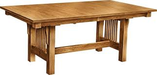 Mission Dining Room Furniture Mission Dining Room Table