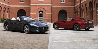 gran turismo maserati 2018 2018 maserati grancabrio granturismo fully revealed for goodwood