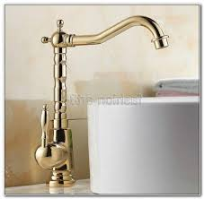 polished brass bathroom faucets single hole sinks and faucets