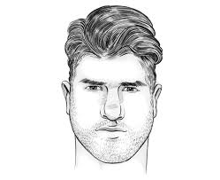 haircuts for slim faces men how to choose the right haircut for your face shape fashionbeans