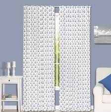 Nautical Room Divider The Peanut Shell Anchor Nautical Blackout Rod Pocket Curtain