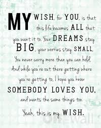 my wish for you the daily quotes