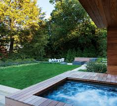 Infinity Pool Backyard by A Chestnut Hill Backyard Goes To Infinity And Beyond Boston Magazine