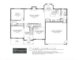 Side Garage Floor Plans New Construction Judith Ann Realty Inc