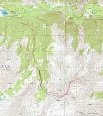 14ers Map 14er Tbt Mount Antero 16 May 2007 14erskiers Com