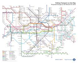 underground map map from 2004 shows how the underground might