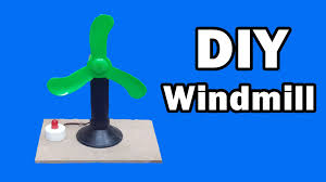 Small Wind Turbines For Home - how to make a mini windmill at home free energy generator youtube