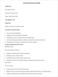 Skills And Abilities Resume Example by Manufacturing Resume Template U2013 26 Free Samples Examples Format