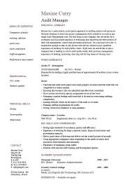 Sample Marketing Resume Sample Of Supervisor Resume Technical Project Manager Resume