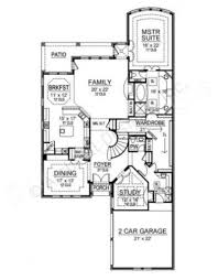 Texas Floor Plans by Newcastle Narrow House Plans Texas Floor Plans