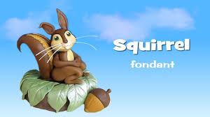 squirrel cake topper fondant squirrel cake topper scoiattolo in pasta di zucchero