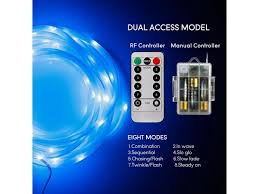 xmas decoration led starry string lights blue ir control