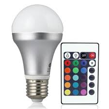 color changing light bulb with remote lighting ever remote controlled color changing led light bulb 16
