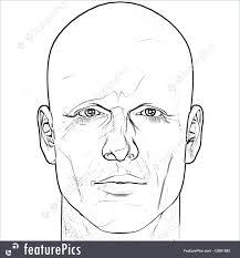 male figure portrait