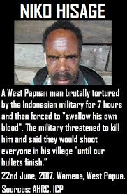 Niko And Meme - niko hisage a west papuan man brutally free west papua