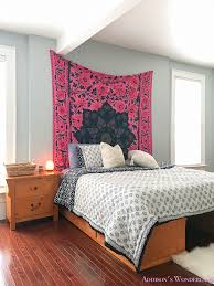 bedroom makeover a surprise budget boho chic bedroom makeover