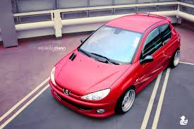 peugeot pink peugeot 206 rc 2 tuning