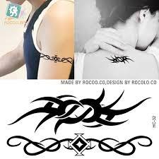 new neck tattoo stickers waterproof female small fresh flower vine