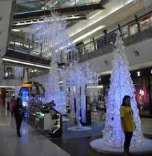 White Christmas Stage Decorations by 2012 Hari Raya Decoration 1 Utama Festive Decorations