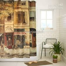 Vintage Style Shower Curtain 1950s Homes Style Home Design And Style Homes With Regard To