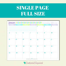 10 best images of printable 2015 calendar 2 month per page half
